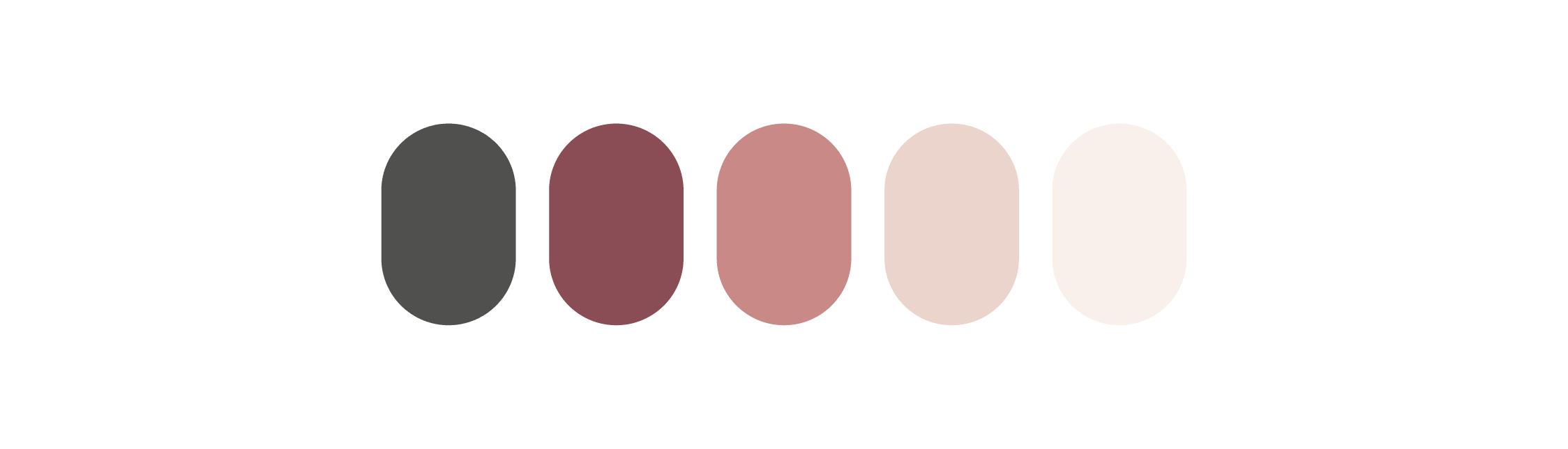 Jessie palette de couleurs